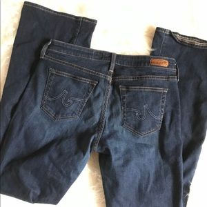 Ag Adriano Goldschmied Jeans - AG  The Jessie Curvy Boot Cut Jeans Size 30R